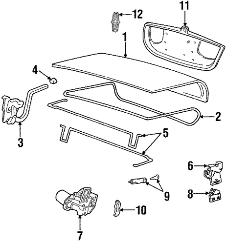 trunk for 2002 lincoln town car
