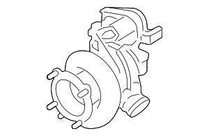 Turbocharger - Porsche (9A1-123-014-77)