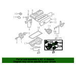 Oil Filter Housing - BMW (11-42-8-683-206)