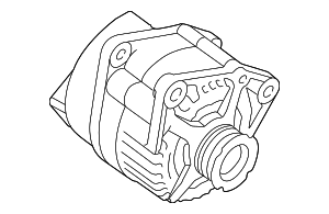 Alternator - Land-Rover (AMR2938E)