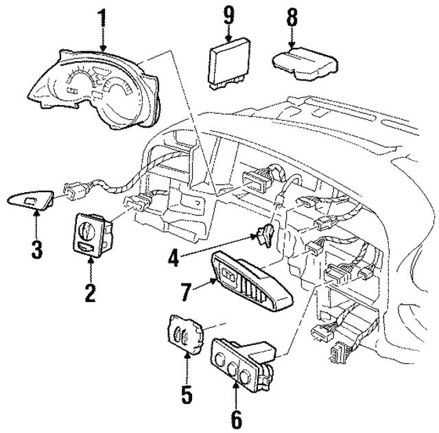 Body Control Module - GM (10439803) | GMPartsDirect.com