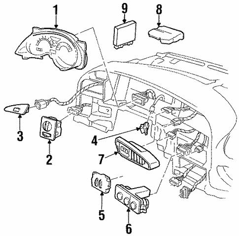 Oem 1998 Pontiac Grand Prix Switches Parts