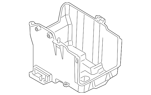 2011 2013 Ford Fiesta Battery Tray Ae8z 10732 B