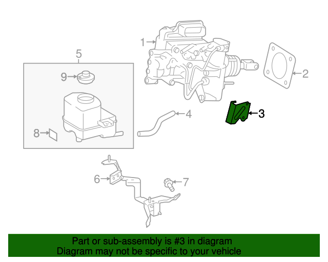 426e2332064007aef3ed5a3b05e8ecd6 toyota master cylinder assembly bracket 47381 52040 grahamtoyotaparts