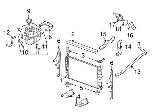 2006 pontiac g6 exhaust system diagram radiator amp components for 2006 pontiac g6 gtp pontiac g6 fuel system diagram