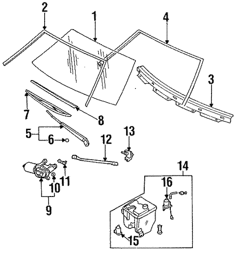 Wipers For 1990 Nissan Sentra Nissan Parts Store