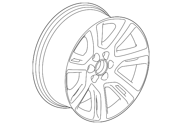 Wheel Alloy Replaced By Part Number 84497728
