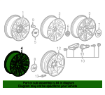 Wheel, Alloy - GM (84588749)