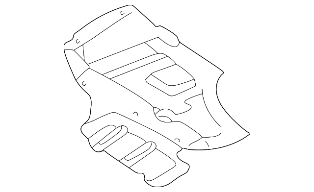 Genuine Nissan Parts 75898-0Z800 Lower Engine Cover