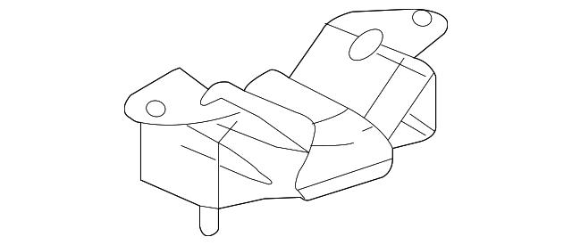 Genuine Mopar Trans Mount Bracket 52021470AD