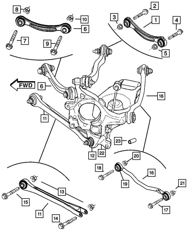 Ft Lateral Arm Mopar 68045330ac Mopar Wholesale Parts