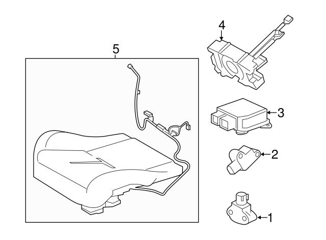 2014 2019 Jaguar F Type Occupant Sensor T2r16507