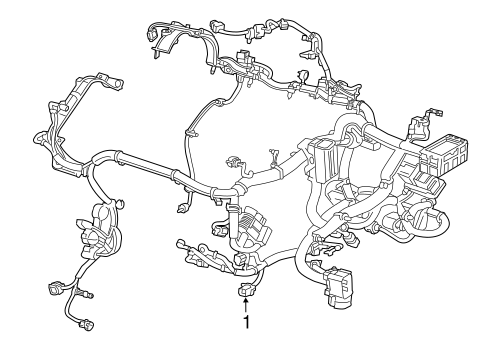 Wiring Harness For 2015 Ram Promaster City