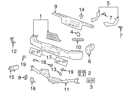 Bumper And  ponents Rear Scat also 1976 Wiring Diagram Manual Chevelle El Camino Malibu Monte Carlo P12635 likewise P 0996b43f80381565 as well 1994 Ram 3500 Door Wiring Diagram furthermore T7859719 O2 sensors side. on 2004 f150 front bumper diagram