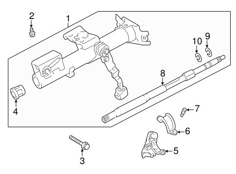 Housing Components For 2005 Scion Xa