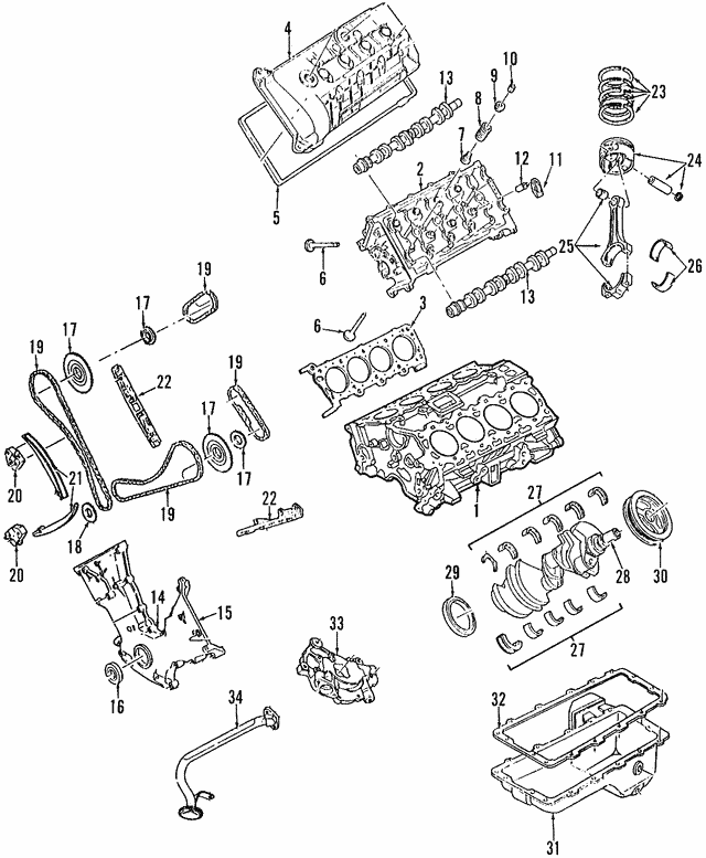 Ford Mustang Engine Connecting Rod
