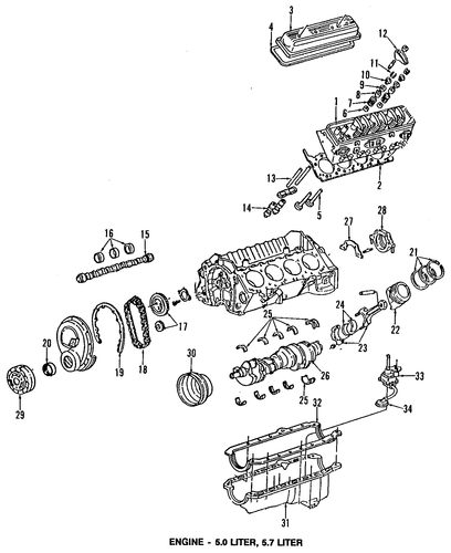 oil pan for 1996 chevrolet impala
