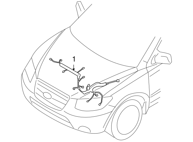 2011 Hyundai Santa Fe Dash Lights