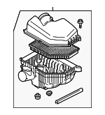 Air Cleaner Assembly - Volvo (31338028)