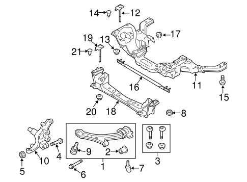 Front Suspension/Suspension Components for 2013 Ford Mustang #2