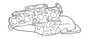 Exhaust Manifold - Toyota (17140-38010)