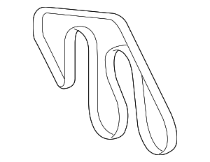 Serpentine Belt - Toyota (90916-A2033)