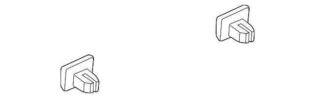 Genuine Kia Rocker Molding Clip 87756-2E000