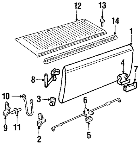 Gm Hinge 15545203 as well Automotive Clip Art as well 1989 Chevy Silverado Engine Schematic in addition 92 Chevy Pickup Wiring Diagram in addition GL2d 20867. on 1992 gmc sierra stepside