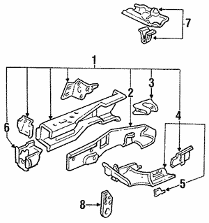 Bracket, Transmission Mount