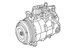 Compressor - Mercedes-Benz (000-830-45-02-80)