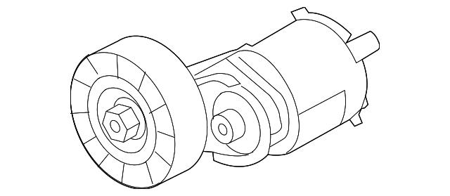 Belt Tensioner Assembly Volkswagen 07K 903 315 T