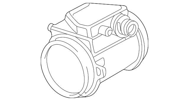 Genuine 1993 2001 Bmw Mass Air Flow Sensor 13 62 1 403 123