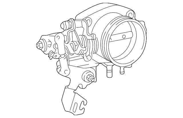 1998 2001 Bmw Z3 Throttle Body 13541406469