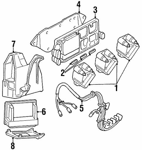 Powertrain Control For 1998 Oldsmobile Cutlass