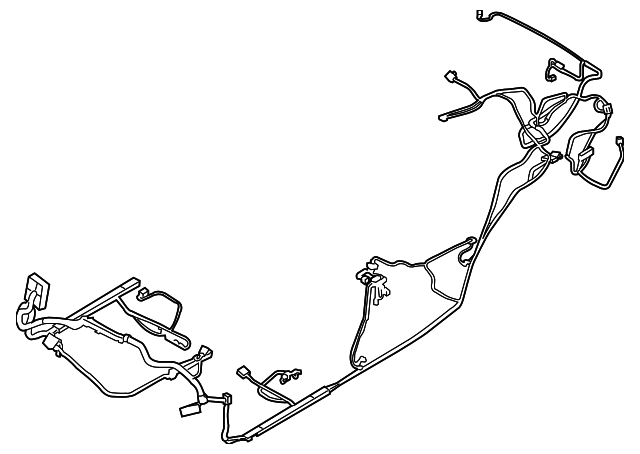 wire harness - ford (be8z-14a005-acb)