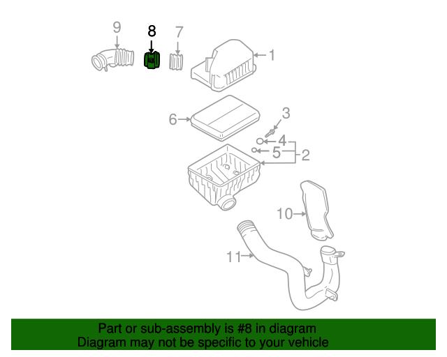 Sensordetector Assembly Air Flow