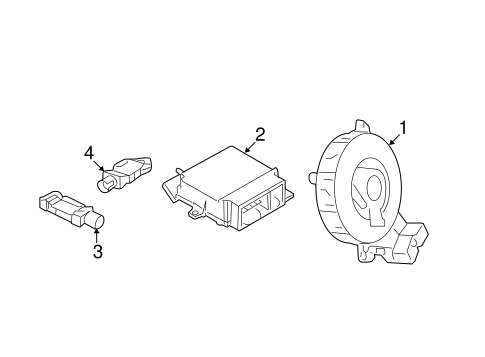 air bag components for 2015 dodge journey #0