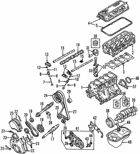 Engine For 2006 Mitsubishi Outlander Ls