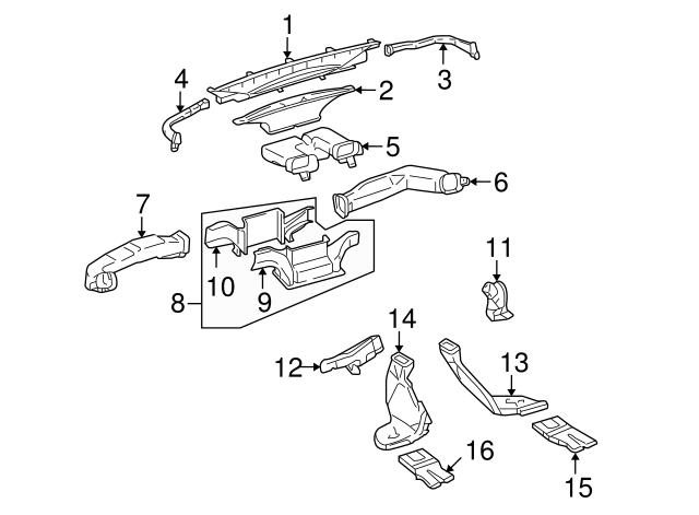 2007 2014 Toyota Fj Cruiser Air Deflector 55870 35010