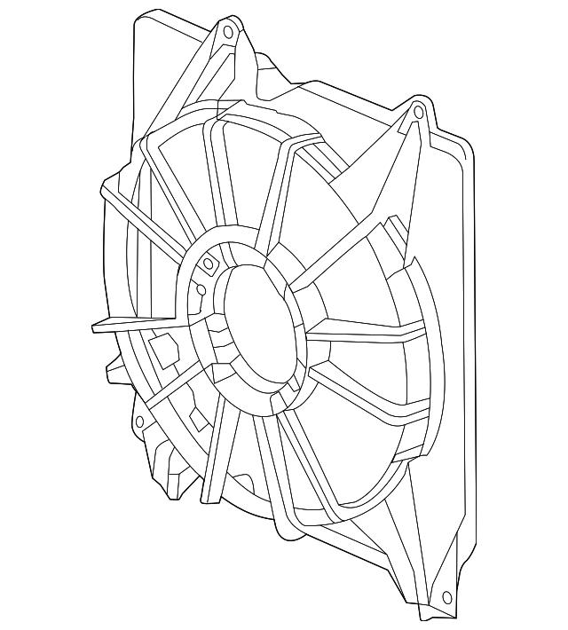 Shroud - Acura (19015-5J2-A01)