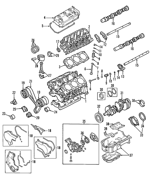 engine for 2002 dodge stratus parts | wermopar 2004 dodge stratus engine diagram #11