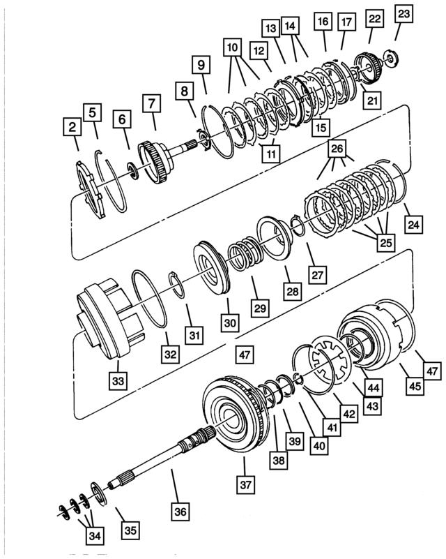 2003 2018 Mopar Underdrive Clutch Snap Ring 4659934
