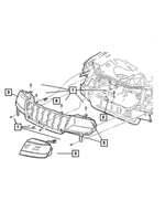 Headlamp Wiring - Mopar (5012604AA)