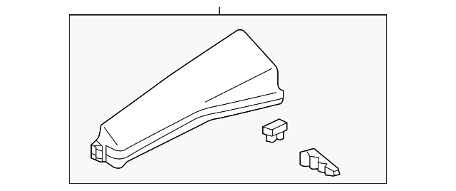 fuse  u0026 relay box upper cover