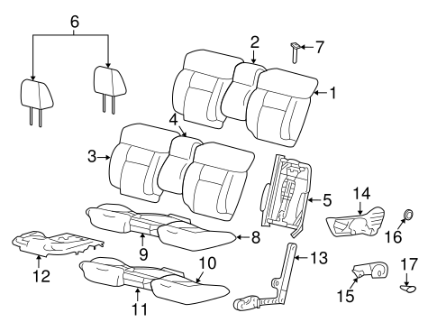 Front Seat Components For 2008 Ford F 150