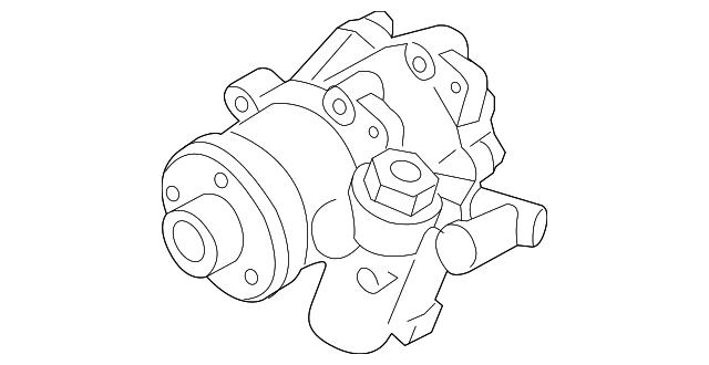 Genuine Porsche Power Steering Pump 948 314 050 04