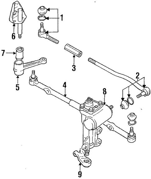 Suzuki Sidekick Steering Diagram