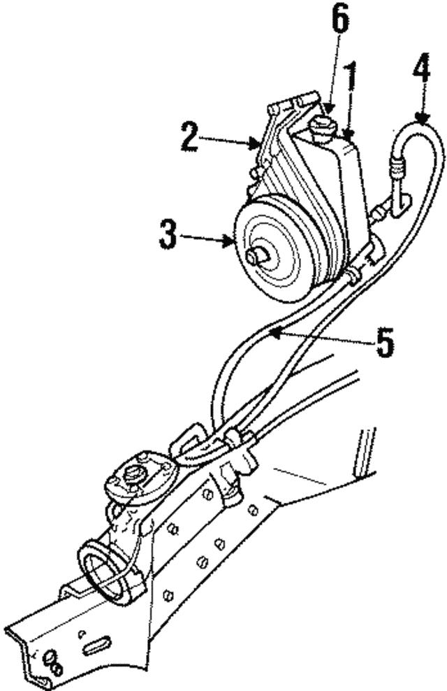 Power Steering Pump - Mopar (RL039145AB) | worldmoparWorld Mopar Parts