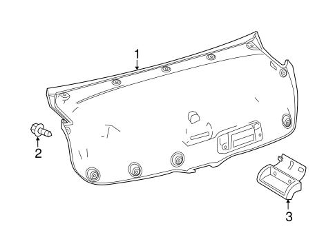 Bumper Cover Lower Retainer