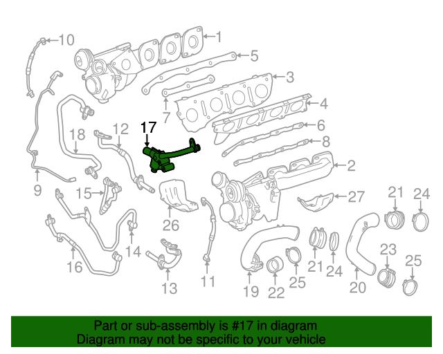 Cooler line mercedes benz 157 200 01 51 factory oem for Mercedes benz part numbers list